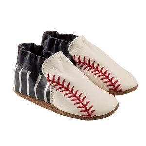 Robeez Baby Shoes - Robinson Baseball - 6-12M